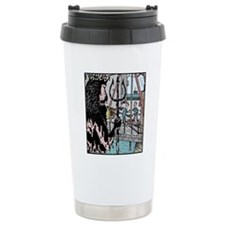 Angry King Neptune Travel Mug
