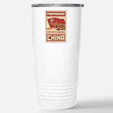 Maoist comunist vintage Stainless Steel Travel Mug