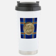 Alabama Centennial Half Stainless Steel Travel Mug