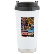 Paris Collage Travel Mug
