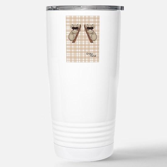 kb_flip_flops Stainless Steel Travel Mug