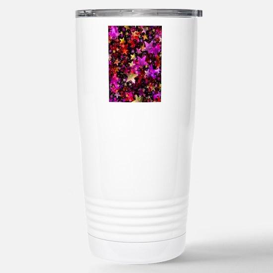 Rainbow Stars Stainless Steel Travel Mug
