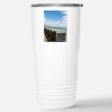 Isle of Wight Beach Hut Travel Mug