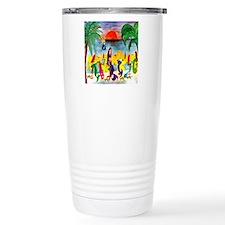 Mermaid Tiki Wine Bar Travel Mug