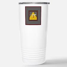 The Scimitar and Pyrami Stainless Steel Travel Mug