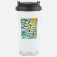 Vintage Florida Greetin Stainless Steel Travel Mug