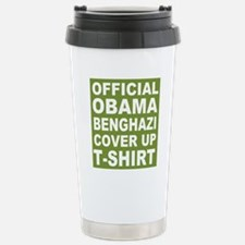 Obama benghazi cover up Stainless Steel Travel Mug