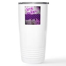 Punk You 1 Love Sucks Travel Coffee Mug