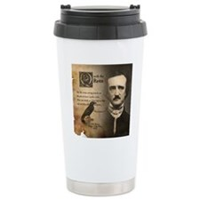 Edgar Allan Poe and Rav Travel Mug