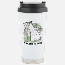 Cleared To Land? Stainless Steel Travel Mug