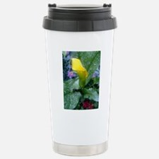 Flower Stainless Steel Travel Mug