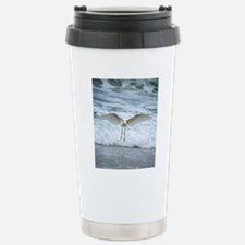 Born of sea-foam Stainless Steel Travel Mug