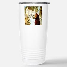 Young nordic girl Stainless Steel Travel Mug