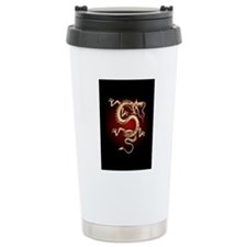 Lucky Chinese Dragon Travel Mug