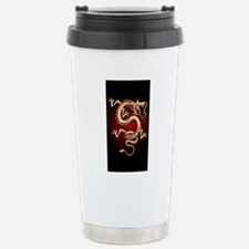 Lucky Chinese Dragon Stainless Steel Travel Mug