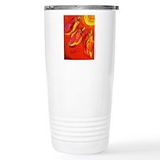 Three Hot Peppers Travel Mug