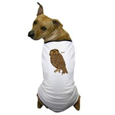 Hoot Owl Dog T-Shirt