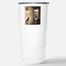 Edgar Allan Poe Stainless Steel Travel Mug