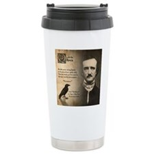 Edgar Allan Poe Travel Coffee Mug