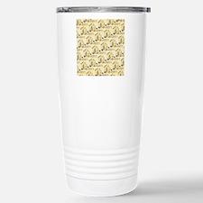 Illustrated Egyptian Pa Stainless Steel Travel Mug