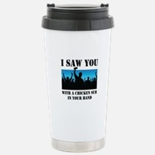 Chicken Sub Halftone Pa Travel Mug