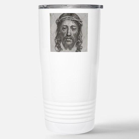Jesus!  All Over! Stainless Steel Travel Mug