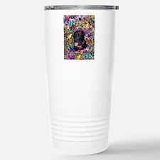 Abby the Black Lab in F Travel Mug