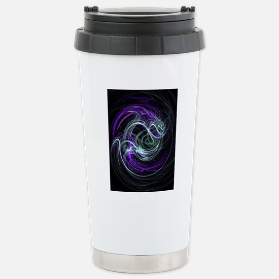 Light Within, Abstract  Stainless Steel Travel Mug