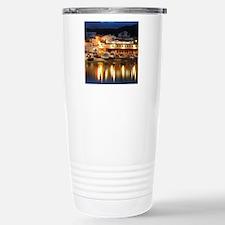 Harbour at dusk Travel Mug