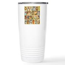 Art Nouveau Advertiseme Travel Coffee Mug