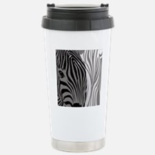 Zebra Fantasy - Gray Travel Mug