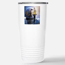 dl2_round_coaster Stainless Steel Travel Mug