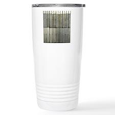 Tin Row Grunge Shower C Travel Coffee Mug
