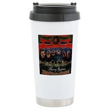 Merry Rotties Rottweile Travel Mug