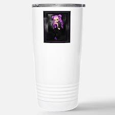 Purple Punk Cookie Girl Travel Mug