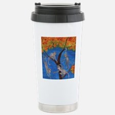 Monkeys hanging around Travel Mug