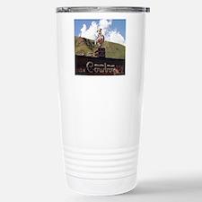 Million Dollar Cowboy B Travel Mug