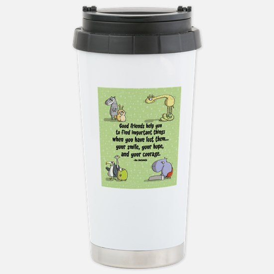 Good Friends Stainless Steel Travel Mug