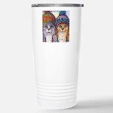 The knitwear cat sister Travel Mug