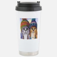 The knitwear cat sister Travel Mug
