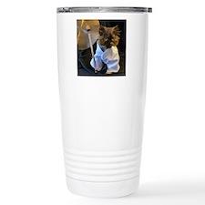 Freida ready for her ma Travel Mug