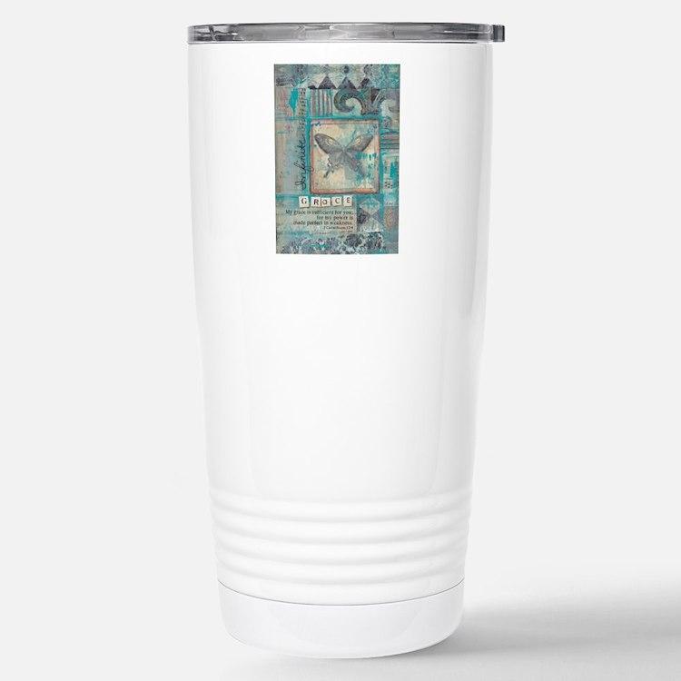 Infinite Grace Stainless Steel Travel Mug