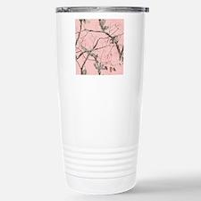 Realtree Pink Camo Stainless Steel Travel Mug