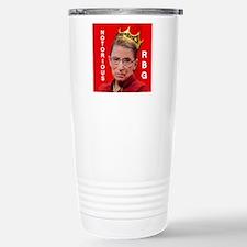 Notorious RBG Small Squ Travel Mug