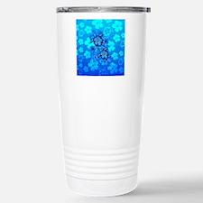 Blue Honu Hibiscus Travel Mug