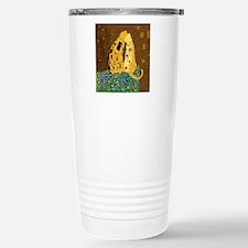 Klimt's Kats Travel Mug