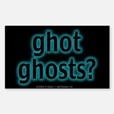 ghot ghosts? Sticker (Rect.)