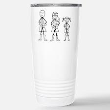 Super Family 1 Girl Travel Mug