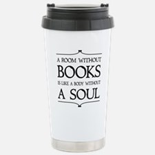 Room Without Books Stainless Steel Travel Mug