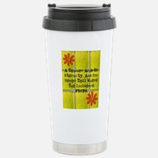 retired teacher tiles b Stainless Steel Travel Mug